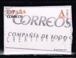 Sellos del Mundo : Europa : España : VALORES  CIVICOS.  CREATIVIDAD
