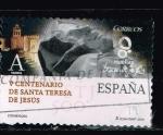 Sellos del Mundo : Europa : España : EFEMERIDES. 5 CENTENARIO DE  SANTA TERESA DE JESUS