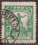 Sellos del Mundo : America : Perú : Pro Desocupados  1931 2 centavos
