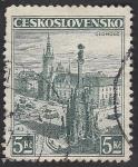 Stamps Czechoslovakia -  318 - Vista de Olomouc