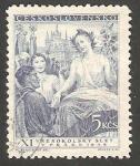 Sellos de Europa - Checoslovaquia -  462 - Fiesta de Sokols, en Praga
