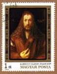Stamps Europe - Hungary -  RES-ALBERTO DURERO: AUTORRETRATO