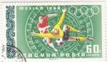 Sellos de Europa - Hungría -  juegos olimpicos Mexico-68