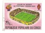 Sellos de Africa - República Democrática del Congo -  Copa mundial de futbol. España 82.