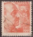 Sellos de Europa - España -  General Franco  1949  60 cents