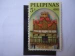 Sellos de Asia - Filipinas -  Museo Nacional de las Felipinas-Organo en St. Iglesia Joseph Parish en la ciudad de Las Peñas.