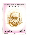 Stamps Democratic Republic of the Congo -  Albert Einstein, (Fisico) 1879-1955