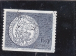 Stamps Sweden -  moneda antigua