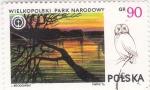 Sellos de Europa - Polonia -  paisaje parque Narodowy