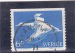 Sellos de Europa - Suecia -  pato y duende