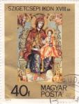 Stamps Hungary -  obra Sagrada Familia