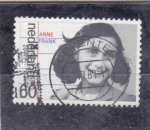 Sellos de Europa - Holanda -  Anne Frank
