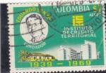 Sellos de America - Colombia -  Instituto de Credito Territorial