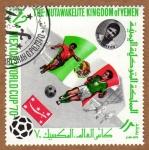 Stamps Yemen -  RES-EQUIPO DE FUTBOL MÉJICO - MEXICO'70