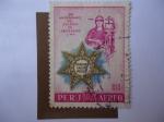 Sellos de America - Perú -  150º Aniversario del Colegio de Abogados -Lima. 18081958