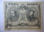 Sellos de America - Perú -  IV Centenario de la Fundación de la Universidad Mayor de San Marcos 1551-1951