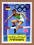 Stamps Yemen -  RES-SALTO DE VALLA