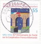 Sellos de Europa - Alemania -  40 aniv- del tratado franco-aleman