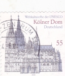 Stamps : Europe : Germany :  catedral de Koln