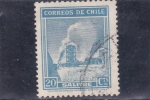 Stamps Chile -  salitre