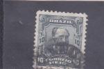 Sellos de America - Brasil -  Aristides Lobo-