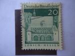 sellos de Europa - Alemania -  Lorsch-Hessen - Deutsche Bundespost - Scott/Al:939