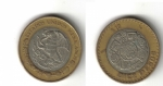 monedas del Mundo : America : México :  Diez Pesos