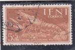 Stamps Morocco -  dia del sello colonial- crustaceo