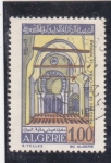 Sellos de Africa - Argelia -  mezquita de Sidi-Okba