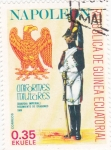 Sellos de Africa - Guinea Ecuatorial -  uniformes militares napoleonicos