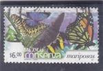 Stamps Mexico -  conserva- mariposas