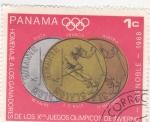 Sellos del Mundo : America : Panamá :  monedas juegos olimpicos