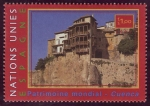 Sellos del Mundo : America : ONU : ESPAÑA - Ciudad histórica fortificada de Cuenca