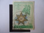 Stamps Peru -  150 Aniversario del Colegio de Abogados-Lima- 1808-1958.