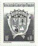 Stamps Europe - French Southern and Antarctic Lands -  ESCUDO DE ARMAS DE LOS TERRITORIOS AUSTRALES Y ANTÁRTICOS FRANCESES. YVERT TF 163