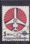 Stamps Czechoslovakia -  avion