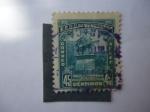 Stamps Venezuela -  Estatua de Simón Bolívar - caracas.