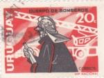Stamps Uruguay -  cuerpo de bomberos