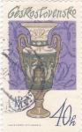 Sellos de Europa - Checoslovaquia -  artesania