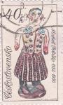 Sellos de Europa - Checoslovaquia -  artesanía