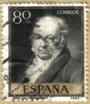 Sellos de Europa - España -  GOYA por Fernan Gonzalez