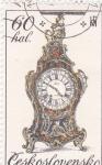 Sellos de Europa - Checoslovaquia -  reloj antiguo