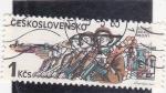 Sellos de Europa - Checoslovaquia -  ejercito checoslovaco