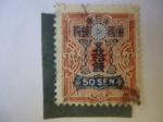 Stamps : Asia : Japan :  Japon - 50 sen -