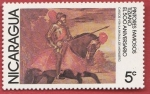 Stamps Nicaragua -  Pintores famosos Tiziano