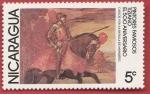 Stamps : America : Nicaragua :  Pintores famosos Tiziano