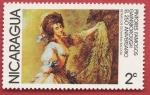 Stamps : America : Nicaragua :  Pintores famosos Gainsborough