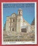 Stamps : America : Mexico :  Arquitectura religiosa siglo XVI