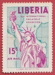 Stamps Liberia -  5th International Philatelic Exhibition