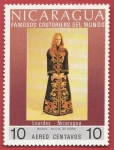 Stamps : America : Nicaragua :  Famosos Couturiers del mundo